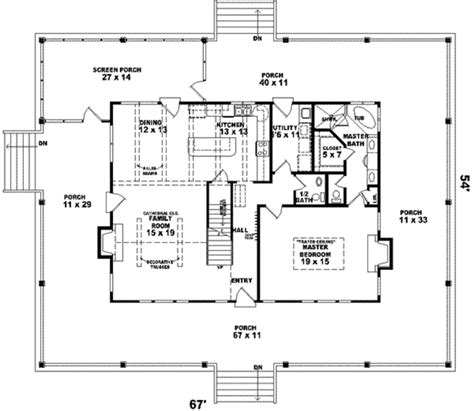 farmhouse style house plan 3 beds 2 5 baths 2200 sq ft