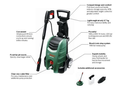 Bosch High Pressure Washer Aquatak Aqt 37 13 Original B30 933 bosch aqt 40 13 pressure washer review pressure washer reviewer