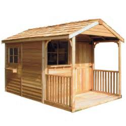 cedarshed clubhouse 10x14 shed ch1014 free shipping