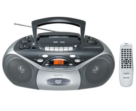 Go Portable Dvd Boom Box Suffers From A Split Personality by Sanyo Dvd Cd Usb Boombox World Wide Voltage Mcd