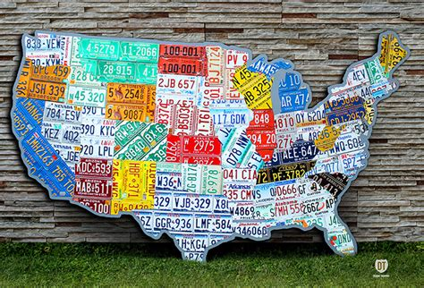 license plate map license plate and license plate maps by design turnpike