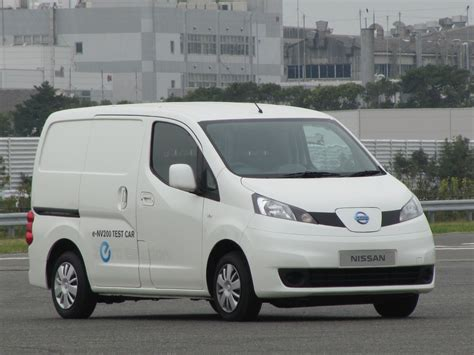minivan nissan nissan e nv200 driving nissan s prototype electric minivan
