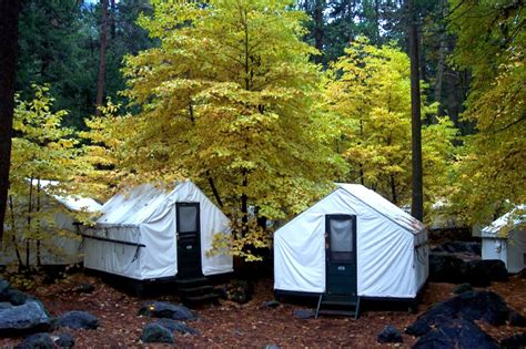 Tent Cabins In California by Yosemite National Park Usa Tourist Destinations