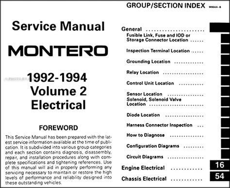 service manual montero best repair manual download 1992 1993 mitsubishi montero repair shop 1992 1994 mitsubishi montero repair shop manual set original