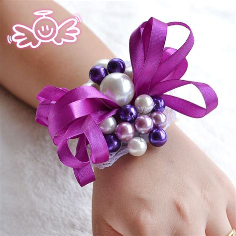 2015 prom wrist corsages prom corsage flowers promotion online shopping for
