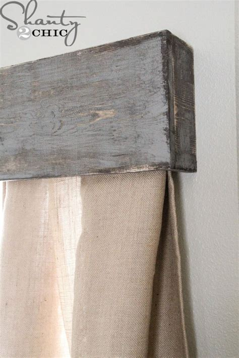 diy curtain valance easy diy cornice projects to try pinterest cornices