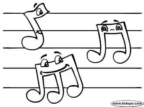 imagenes notas musicales para colorear coloreando dibujos de notas musicales colorear im 225 genes