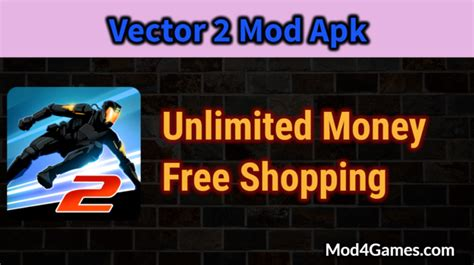 game mod apk free shopping vector 2 mod apk unlimited money free shopping