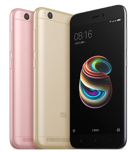 Xiaomi Redmi 5a New xiaomi redmi 5a announced with snapdragon 425 2gb ram and