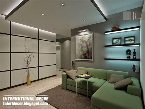 Interior Ceiling Design For Living Room Top 10 Suspended Ceiling Tiles Designs And Lighting For Living Room