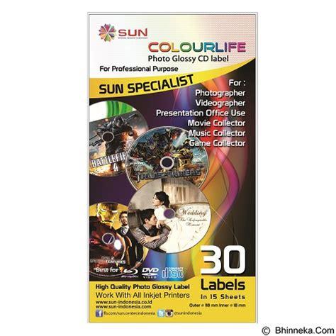 Kertas Foto Sun Professional Glossy Photo Paper 265 Gsm A3 2 jual sun kertas colourlife photo glossy cd label murah bhinneka