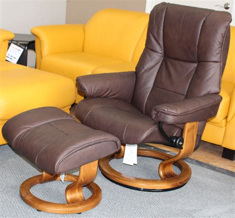 leather recliner chair with ottoman stressless mayfair paloma chocolate leather recliner chair