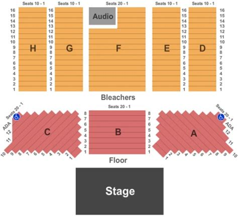 golden nugget seating chart golden nugget atlantic city tickets in atlantic city new