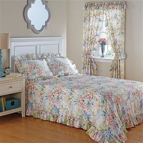 bedspreads and curtains watercolor bedspread curtains home decor bedding