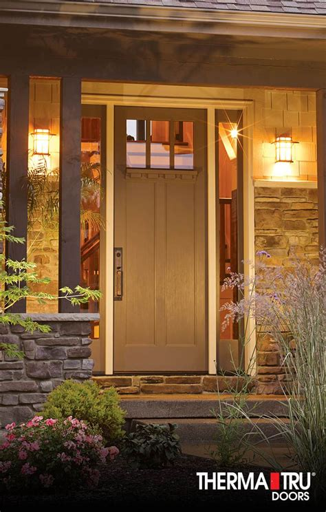 entry doors classic craft oak craftsman style front