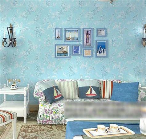 kertas dinding untuk ruang tamu girls bedroom wallpaper ungu non woven background dinding