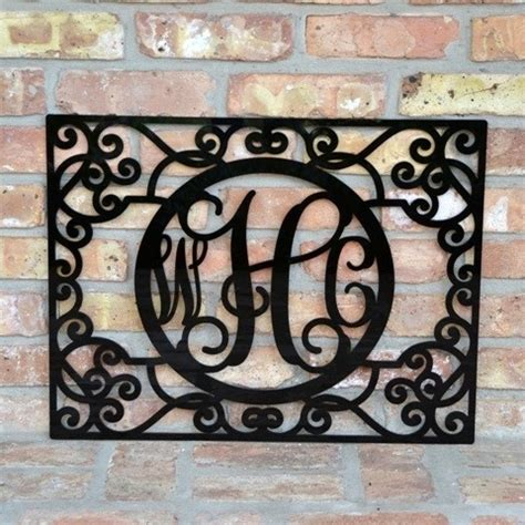 southern wall decor 17 best images about monogram wall decor on