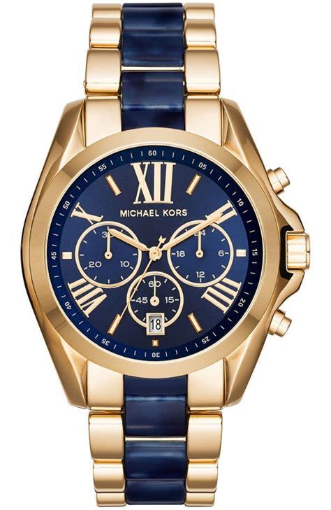 Michael Kors Bradshaw Blue Dial Chronograph Men's Watch MK6268