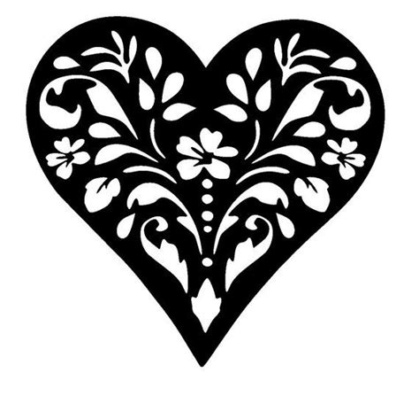 heart pattern for pumpkin carving best 25 stencil templates ideas on pinterest free