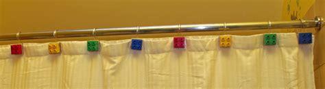 kids shower curtain hooks nerdy mom stuff how i made my kids a lego themed bathroom
