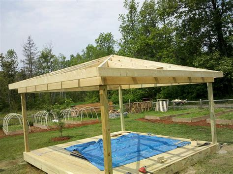 building a gazebo insider how to build a gazebo on a deck garden landscape