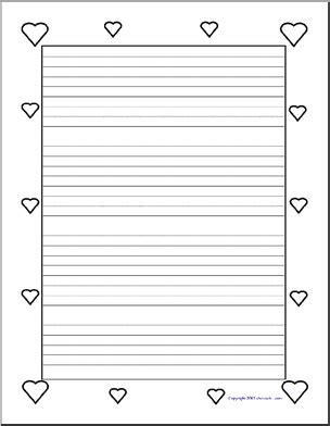 printable lined heart paper image gallery lined paper with designs