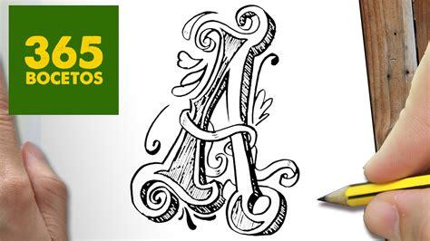 imagenes de amor para dibujar letras como dibujar letra a paso a paso dibujos kawaii faciles