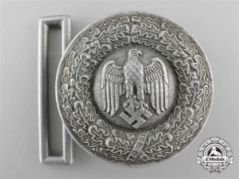 a german army heer officer s brocade dress belt buckle