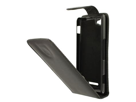 Flip Cover Sony Xperia M M E kunstleren flip hoesje voor sony xperia m