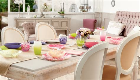 Salle A Manger Shabby Chic by Adoptez Une Salle 224 Manger Shabby Chic Le Mag La Table