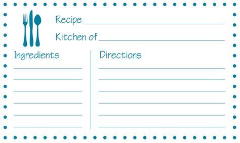 printable recipe cards jayme sloan hennel