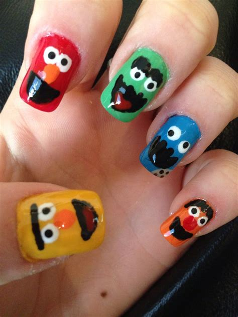 rubber st nail 62 best images about sesame nails nail design