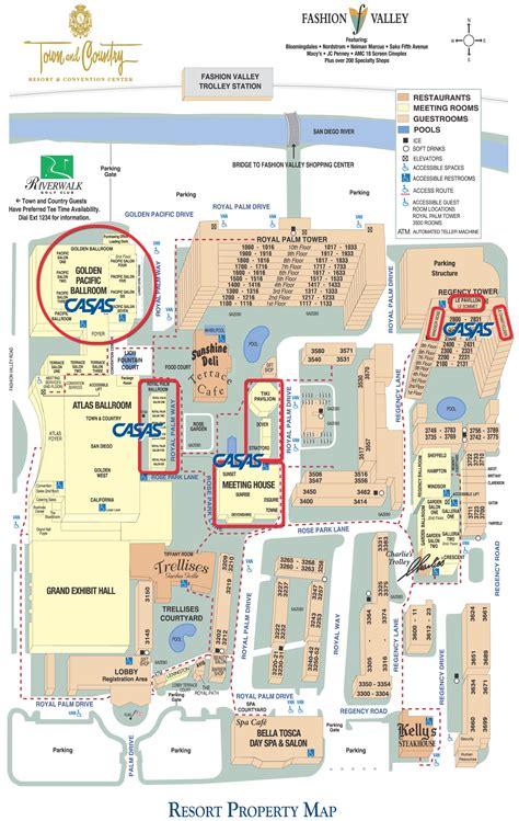 Program For Floor Plans Casas Summer Institute Hotel Map