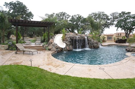 backyard pool and spa bloomington il take it outside smart home automation in your backyard