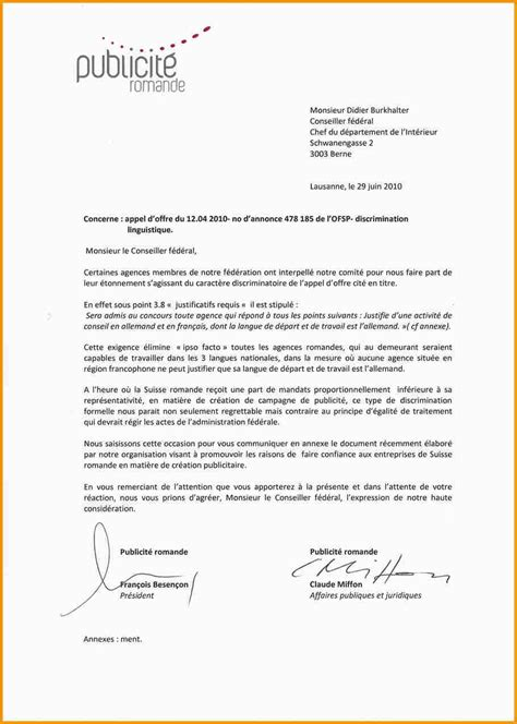 Lettre De Motivation Stage Suisse 7 Lettre De Motivation Suisse Lettre Administrative