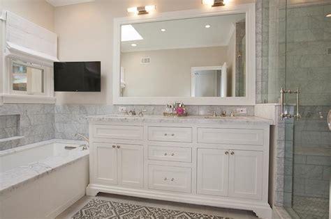 Bathroom tv ideas traditional bathroom c k nyman interior design los angeles