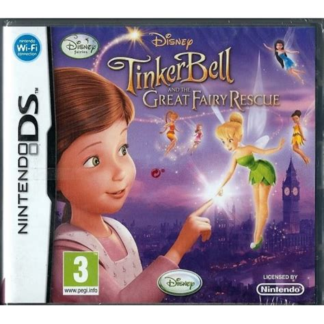 great rescue new disney fairies tinkerbell and the great rescue nintendo ds new