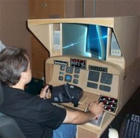 flight simulator and aviation show