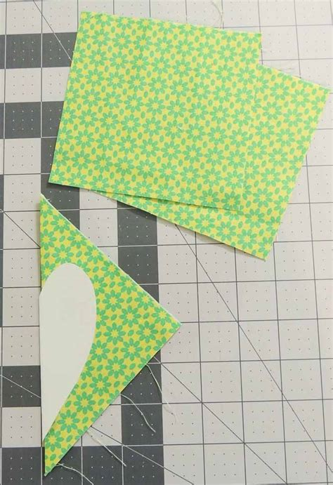 Using Charm Squares To Sew A Lucky Tabletopper Table Topper Template