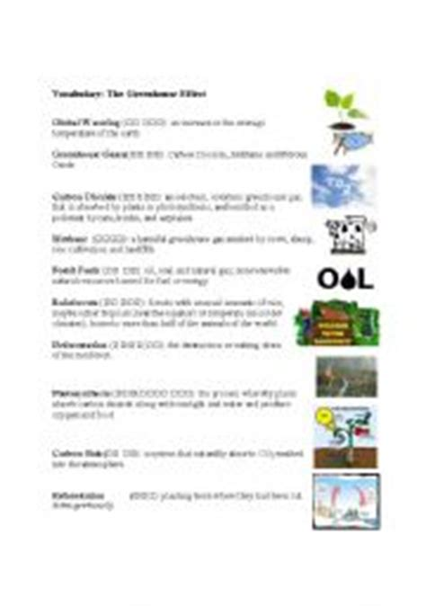 Greenhouse Effect Worksheet High School by Worksheets Photosynthesis Worksheets Page 1