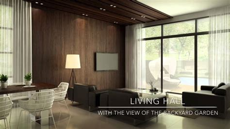 Livingroom Club oakridge new semi detached house at sungai dua penang