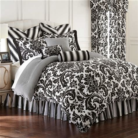 black and white tree bedding symphony by rose tree designer oversize black and white
