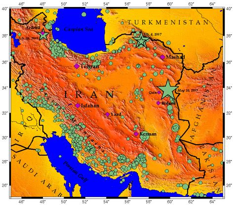 middle east earthquake map iran 107 earthquakes in 30 days boldcorsicanflame s