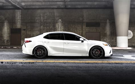 toyota camry custom white toyota camry customized with a touch of style and on