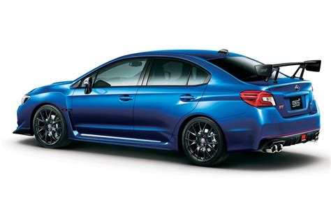 subaru sti 2016 2016 subaru wrx s4 ts sti announced for