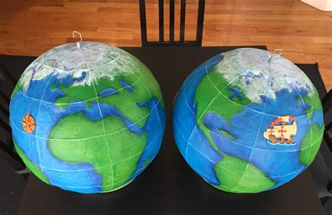 How To Make Paper Globe - papier mach 233 projects decorations and more