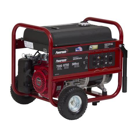 powermate pm0497000 7000 watt portable generator atg stores