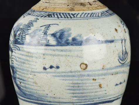 chinese ginger jars late ming dynasty chinese blue and white stoneware ginger
