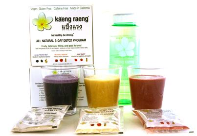 Kaeng Raeng Detox Cleanse by Thinking Of Trying A Detox Cleanse Product Review Of
