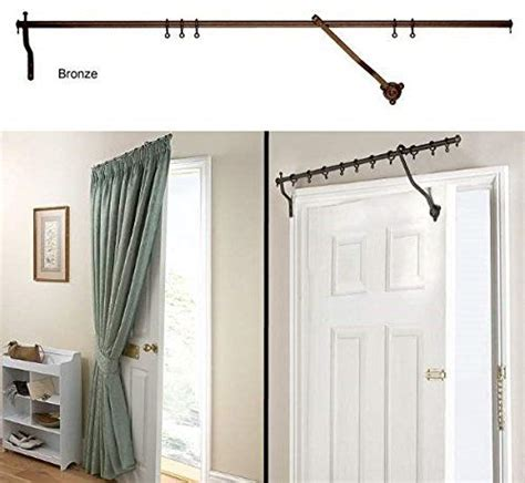 curtain rod for door 17 best ideas about door curtain pole on pinterest